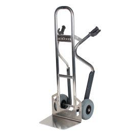Diable Matador NST250CT en aluminium avec glissières d'escalier ; capacité de charge de 350 kg