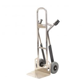 Matador NST300CT aluminum hand truck with stair glides; 350 kg load capacity