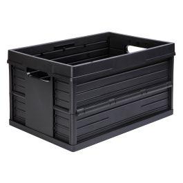 Caisse pliable Evo Box - 46 litres, noire