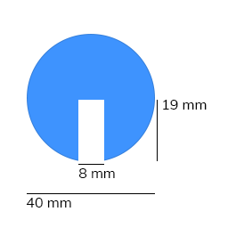 Les protections anti-chocs, modèle 2 - 1 mètre