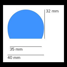 Les protections anti-chocs, modèle 3 - 1 mètre