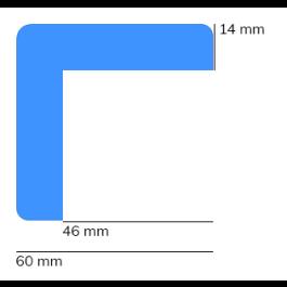 Les protections anti-chocs, modèle 8 - 1 mètre