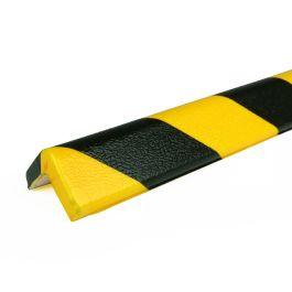 Les protections anti-chocs PRS pour angles, modèle 7 - jaunes/noires - 1 mètre