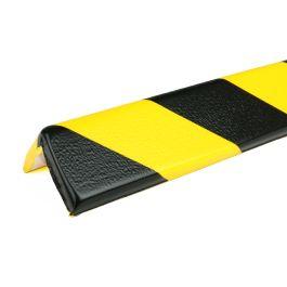 Les protections anti-chocs PRS pour angles, modèle 8 - jaunes/noires - 1 mètre