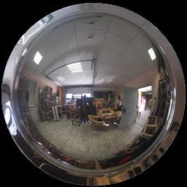 Miroir convexe 360°