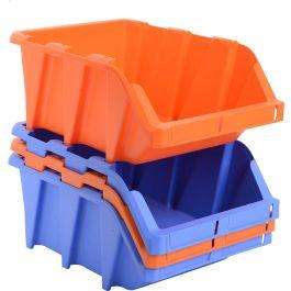 Bacs de rangement en plastique