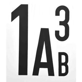Lettres et chiffres magnétiques (par pièce)