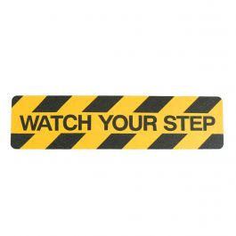"""""""Watch your step"""" bande antidérapante"""
