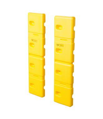 Protecteurs muraux en plastique Eagle (set 2 pièces)