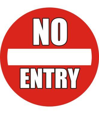 Pictogramme pour sol anti-dérapant : « No Entry »