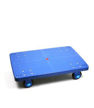 Plateau roulant en plastique, capacité de charge de 300 kg