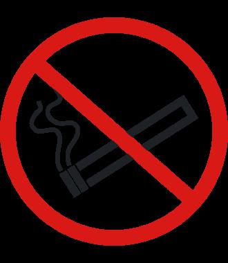 Pictogramme pour sol anti-dérapant : « Interdiction de fumer »