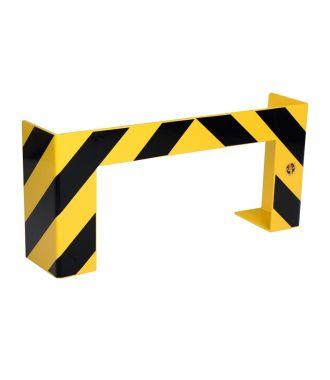 Barrière de protection contre les collisions pour les palettes longues.