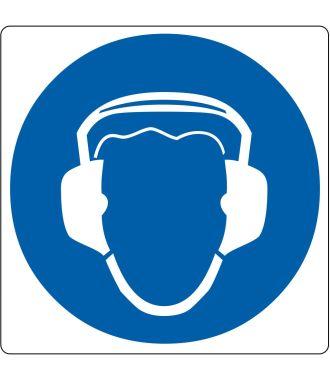 Pictogramme de plancher « Protection auditive requise »