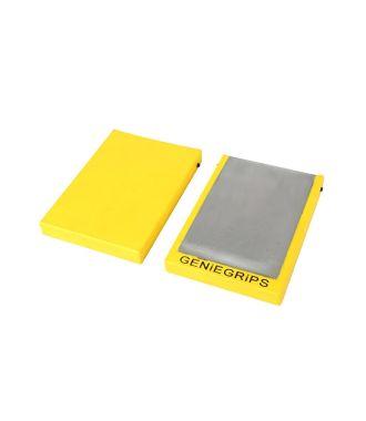 Gaines GenieGrips® Caps - gaines de protection pour fourches de chariot élévateur.
