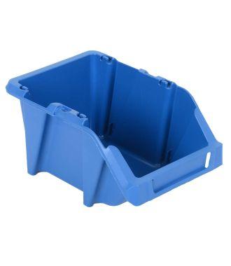 Bac de rangement en plastique 125x195x90 mm