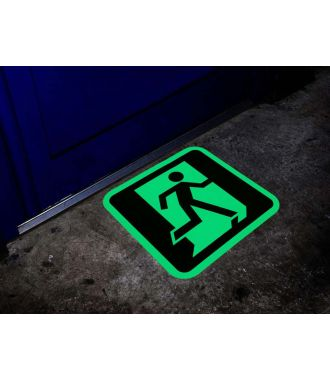 Signe de sortie photoluminescent