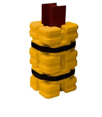 Protection de colonnes adaptable en plastique Sentry FIT